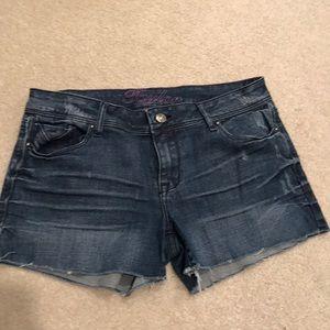 dELiA*s Cut Off Jean Shorts